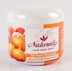 Naturally Lulur Mandi Wangi Sari Peach & Bengkoang